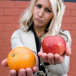 Is it an apple or an orange?  Comparing services